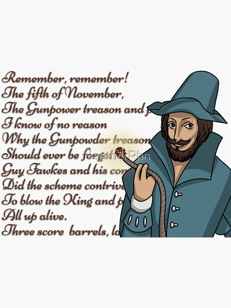 Guy Fawkes igniting bomb for fifth of november by HeatherPhn