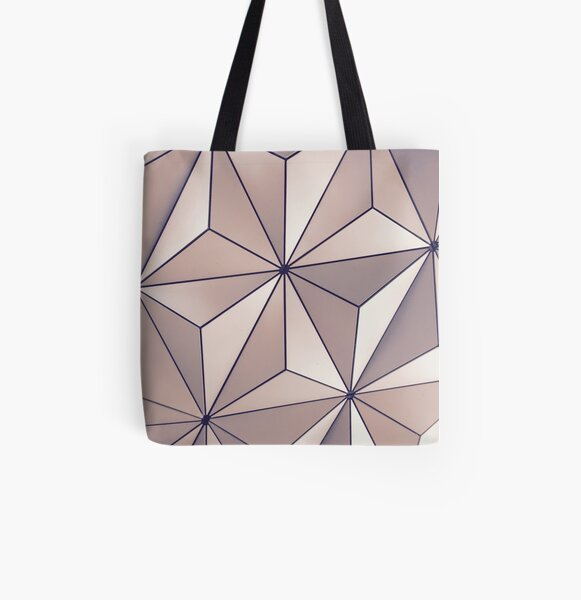 EPCOT Ball Unedited All Over Print Tote Bag