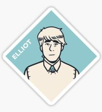 Elliot Sticker Sticker