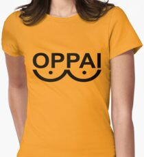 OPPAI - One-punch man tribute Women's Fitted T-Shirt