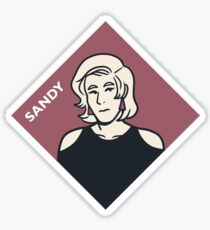 Sandy Sticker Sticker