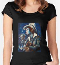Townes Van Zandt Blues Women's Fitted Scoop T-Shirt