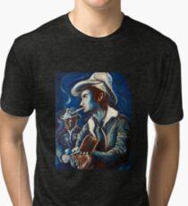 Camiseta de tejido mixto Townes Van Zandt Blues
