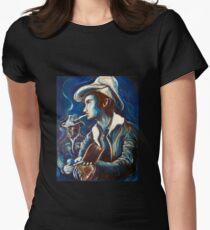 Townes Van Zandt Blues Women's Fitted T-Shirt