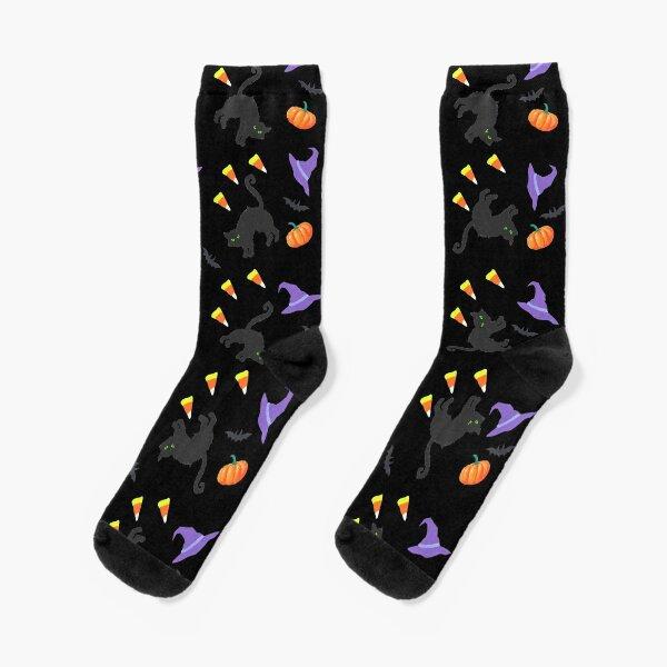 Halloween Pattern (1A) Socks