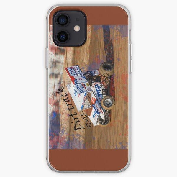 Sprint car fever! Dirt track fever bites all speedway fans no matter the class! iPhone Soft Case