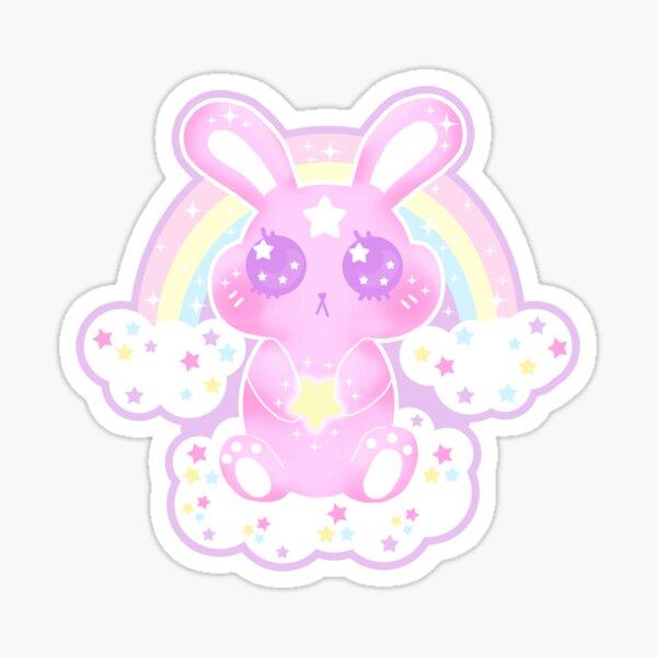 Kawaii Wishing bunny Sticker