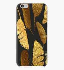 - Golden feathers - iPhone Case
