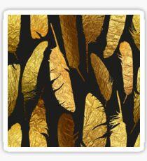 - Goldene Federn - Sticker