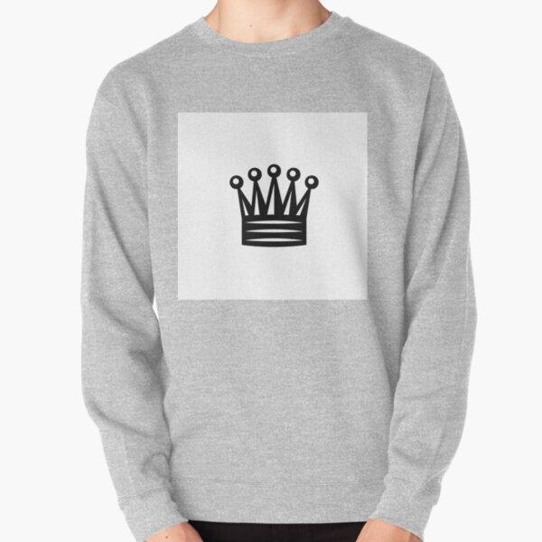 Chess Crown,  Crown Emoji, ♛ Pullover Sweatshirt