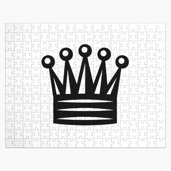 Chess Crown,  Crown Emoji, ♛ Jigsaw Puzzle