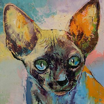 Sphynx Cat Portrait by michaelcreese