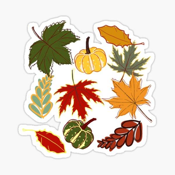 Fall Pattern Sticker