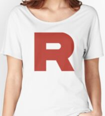 Team Rocket Logo Women's Relaxed Fit T-Shirt