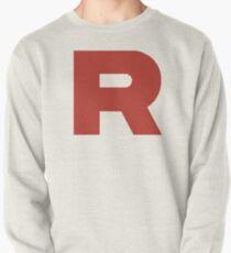 Team Rocket Logo Pullover Sweatshirt