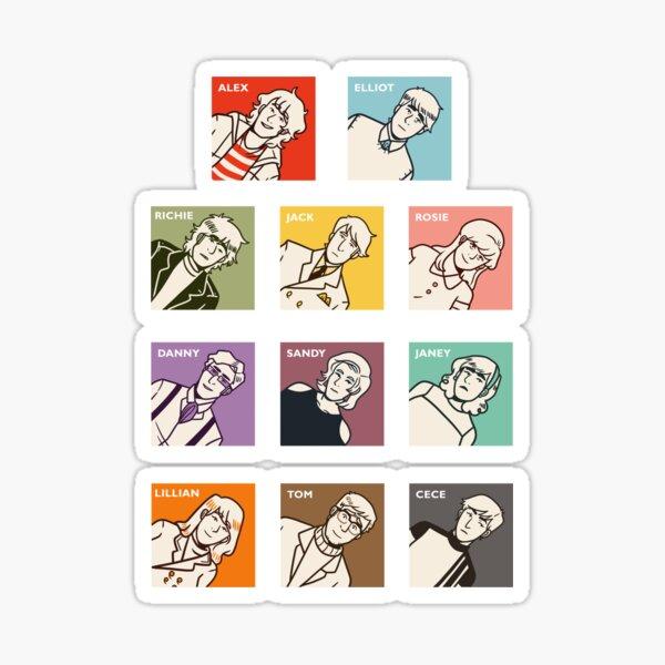 Stereophonic Full Sticker Set Sticker