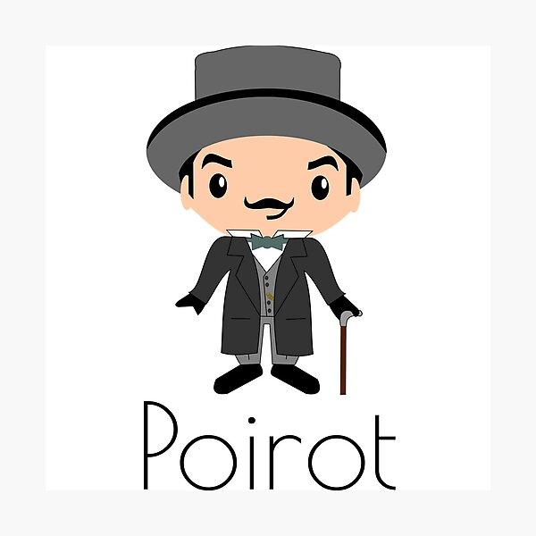 Große Sache - Poirot Fotodruck