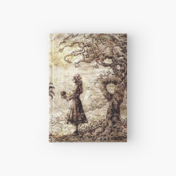 The girl and the demon - Anime SNK Hardcover Journal