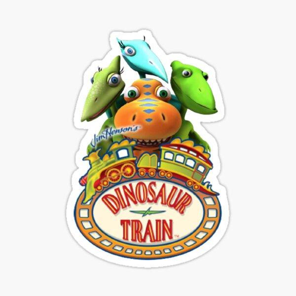 Dinosaur Train Cartoon kids tv show  Sticker