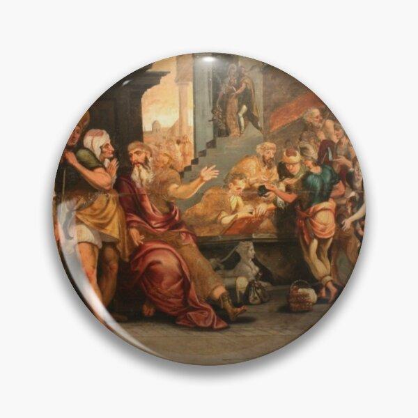 Painting: les ouvriers de la renaissance. Workers In The Vineyard, Oil On Panel, Circle Of Frans Floris, 16th Pin