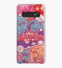 Sailor-Moon-Comicstrip Hülle & Klebefolie für Samsung Galaxy