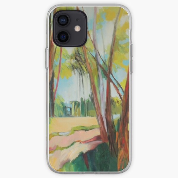 Light Through The Trees iPhone Soft Case