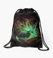 Tiger Light Drawstring Bag