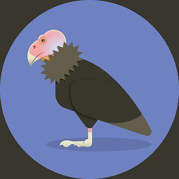 California Condor by mpriorpfeifer