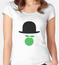 Rene Magritte Women's Fitted Scoop T-Shirt