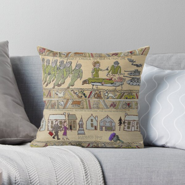 The Outlandish Tapestry Throw Pillow