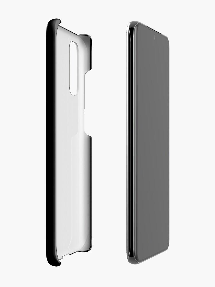 Vista alternativa de Funda y vinilo para Samsung Galaxy ¡Cuidado! Podrías terminar en mi novela