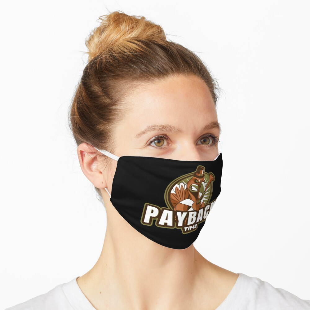 Huffin for the stuffin Mask