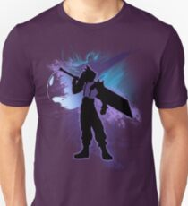 Super Smash Bros. Cloud Silhouette T-Shirt