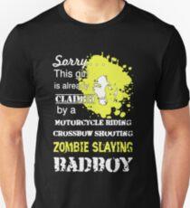 Zombies Slaying Badboy Unisex T-Shirt