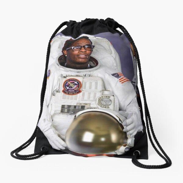 Astronaut Costume Thug Drawstring Bag