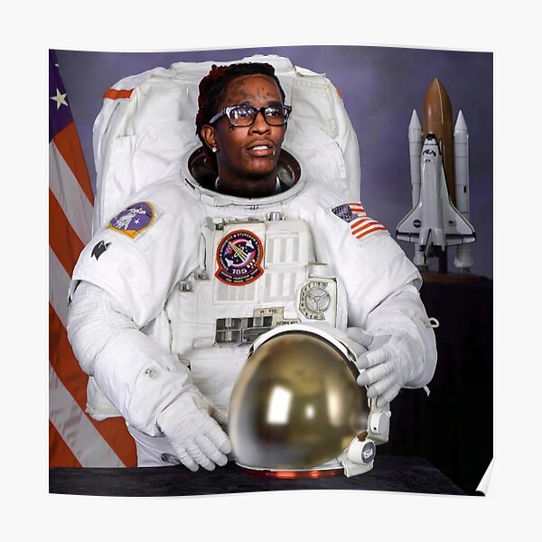 Astronaut Costume Thug Poster