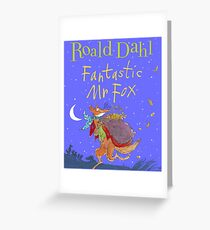 Fantastic Mr. Fox Book Cover Greeting Card