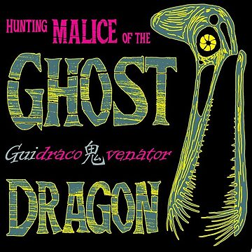Hunting Malice of the Ghost Dragon by cubelight