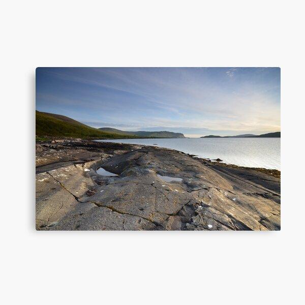 Loch Na Keal, Isle Of Mull Canvas Print