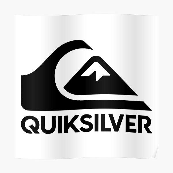 Quiksilver Logo Poster