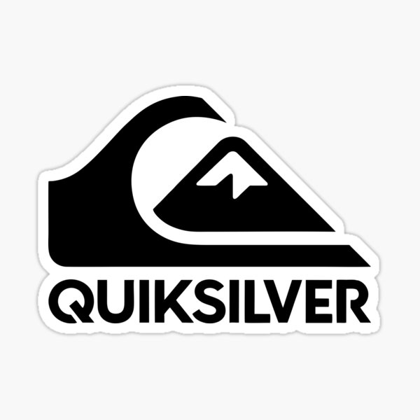Logotipo de Quiksilver Pegatina