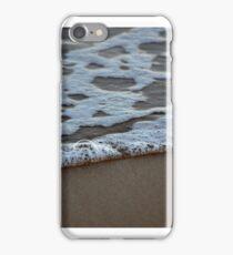 Beach froth iPhone Case/Skin