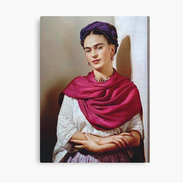 Frida 1939 old photo (HQ) Canvas Print