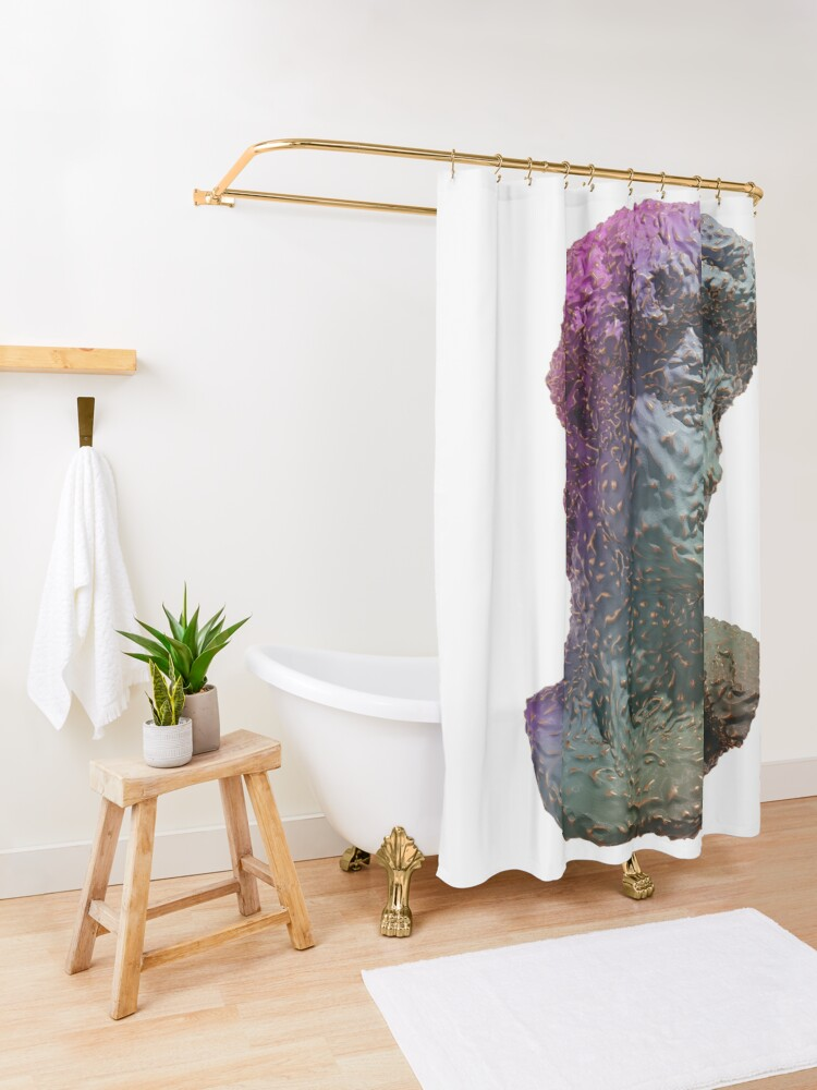 Alternate view of DAVID Shower Curtain
