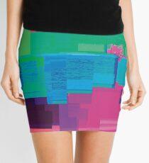 datamoshing 5 Mini Skirt