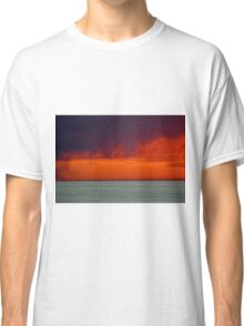 Beach sunset  Classic T-Shirt