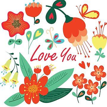 Happy Valentines day card by Lidiebug