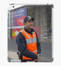 Police In Madeira iPad Case/Skin