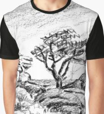 Saddle Tor, Dartmoor Graphic T-Shirt