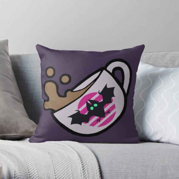 Night Brew Throw Pillow